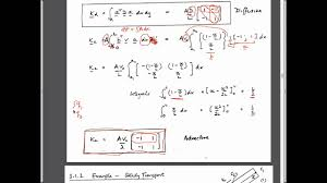 3 1 mass transport c advection dispersion equation 1d steady and transient transport
