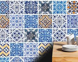 Tile Decals For Kitchen Backsplash Traditional Tiles Stickers Tiles Decals Tiles For Kitchen