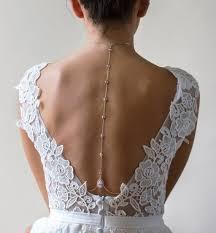back drop necklace images Bridal back necklace tear drop back drop necklace amy o bridal jpg
