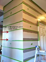 Do You Paint Ceiling Or Walls First by Eat Sleep Decorate Bold Stripes In Our Entryway