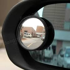 Blind Spot Side Mirror 2pcs Hypersonic Car 360 Degree Swivel Small Round Mirror Auxiliary