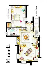 tv show apartment floor plans 35 best tv floorplans images on pinterest floor plans house