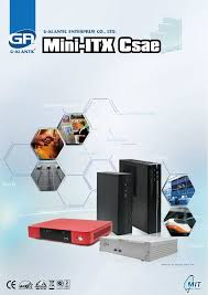 Case For Home Theater Pc by Ga6201 Mini Itx Case Htpc For Intel Dn2800mt Dh61ag And Dq77kb M