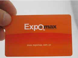 500 pcs lot custom two sided printing plastic pvc business cards