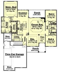 european style house plan 3 beds 2 00 baths 2000 sq ft plan 430 44