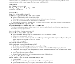 sle resume objective statements for internships resume objective for social work student exle worker services