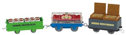 fisher price friends trackmaster spaghetti and meatballs