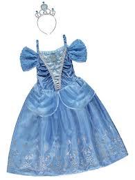 disney princess cinderella fancy dress costume kids george asda