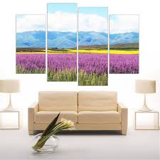 Flower Home Decor by Online Get Cheap Pictures Lavender Flowers Aliexpress Com