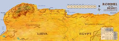 Map Of Benghazi Rommel In The Desert