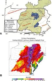 Map Of Central Pennsylvania by Geomorphic Response To Catastrophic Flooding In North Central