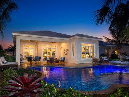 Covered Lanai by Port St Lucie Golf Communities New Home Community Pga Village