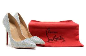 louboutin mariage christian louboutin 10cm diamants souligne chaussures chaussures