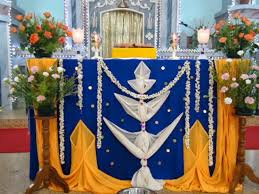 altar decorations murasancode parish murasancode altar decoration during feast