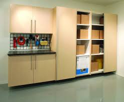 Pegboard Cabinet Doors by Garage Make Your Garage Organization Easier With Smart Home Depot