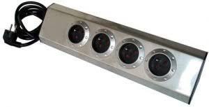multiprise d angle pour cuisine bloc ménager 4 prises 16a en inox d angle pour cuisine avec cable