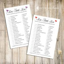 kitchen tea game ideas candy match bridal shower game printable by andshelovedflowers