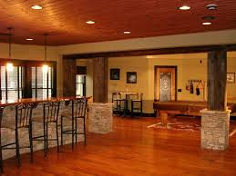 Best Basement Flooring by Basement Hangout Ideas