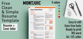 free resume templates using font awesome rezumeet