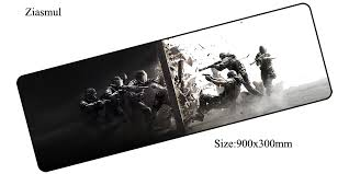 siege i size rainbow six siege mouse pad 900x300mm pad to mouse notbook computer