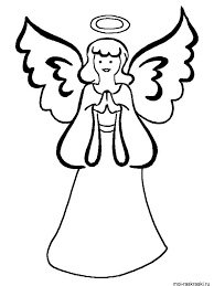angel coloring pages download print angel coloring pages