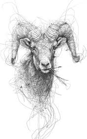 tattoo pen goats animal by vince low tattoo ideas sketches 2 you pinterest