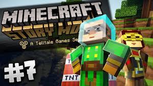 minecraft story mode 7 episode 2 redstonia youtube