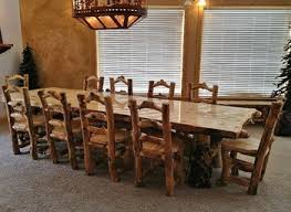 Rustic Dining Room Bench Glamorous Rustic Kitchen Table Rustic Dining Room Table Setsjpg