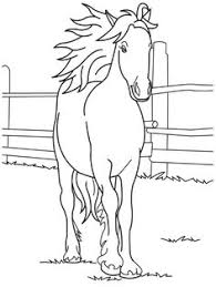 free horse pictures color horse coloring 1 232x300 horse
