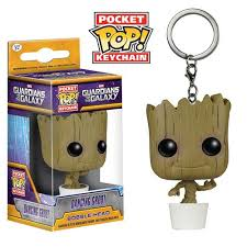 baby keychain guardians of the galaxy baby groot pocket pop key chain funko