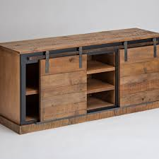 Reclaimed Wood Barn Doors by Reclaimed Wood Consoles And Sideboards