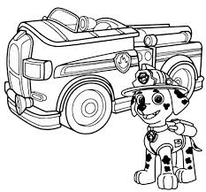 best fire fighter paw patrol coloring pages free 80 printable