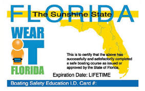 florida boater education cards certificates boat ed