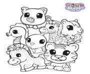 cute baby squinkies coloring pages printable