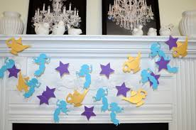 Princess Room Decor Princess Jasmine Birthday Party Decor Aladdin Magic Lamp