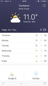 a simple weather app built with react native and realm build