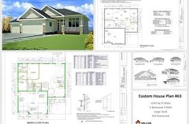 floor plans and elevations of houses a complete house plan with it elevation house floor plans