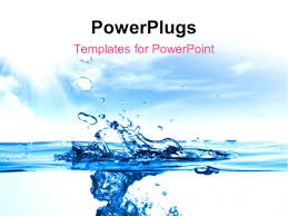 Water Powerpoint Templates by Powerpoint Template Up Of A Water Drops 30827