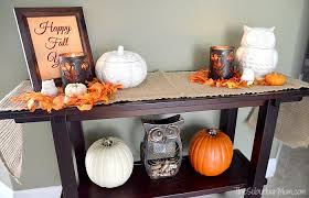 owl decorations for home pumpkins owls fall decorating ideas and free printable