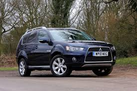 mitsubishi outlander estate review 2007 2013 parkers