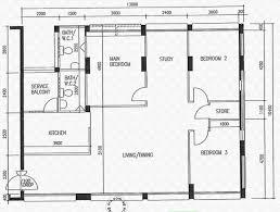 Floor 13 by Floor Plans For Eunos Crescent Hdb Details Srx Property