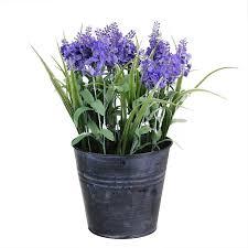 floral arrangement artificial lavender floral arrangement in pot reviews joss
