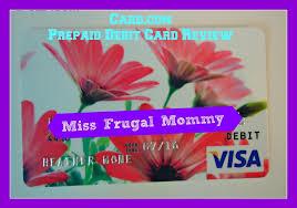 prepaid debit card reviews card prepaid debit card review miss frugal