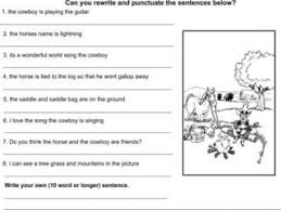 free punctuation worksheets and exercises