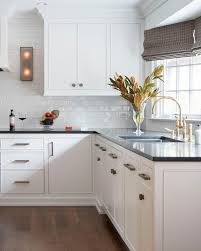 white gloss glass kitchen cabinets black and white kitchen design with glossy white glass