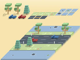 isometric landscape sketch freebie download free resource for