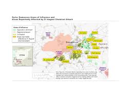Syria World Map by French Report Concludes Syrian Government Used Sarin Scientific