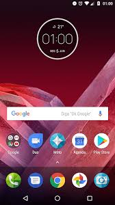 play apk xda app stock moto app launcher and time weath moto z2 play