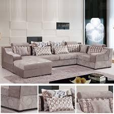 site vente canapé canapé moderne en tissu imprimé fleuri beige salon meubles maison le