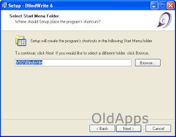 Blind Write Screenshot Of Blindwrite 6 2 0 11 Oldapps Com